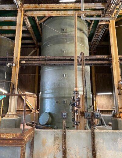 Depósito de poliéster 75 m3 Montaje in situ